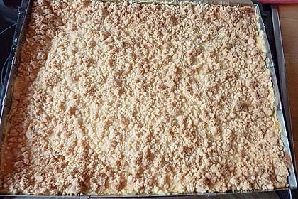 Streuselkuchen mit Mandarinen und Schmand 76