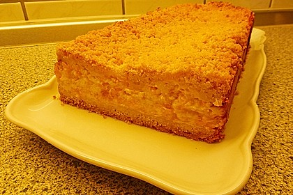 Streuselkuchen mit Mandarinen und Schmand 65