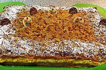 Streuselkuchen mit Mandarinen und Schmand 50