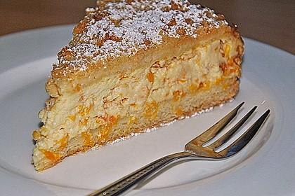 Streuselkuchen mit Mandarinen und Schmand 2
