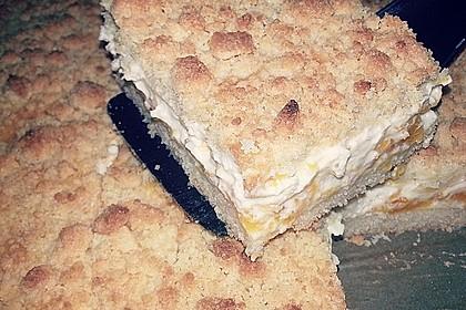 Streuselkuchen mit Mandarinen und Schmand 16