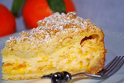 Streuselkuchen mit Mandarinen und Schmand 21