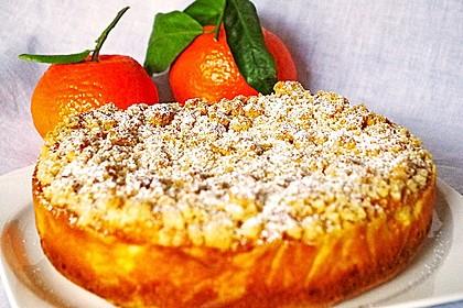 Streuselkuchen mit Mandarinen und Schmand 46