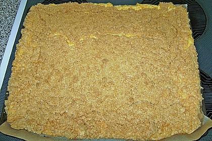Streuselkuchen mit Mandarinen und Schmand 80