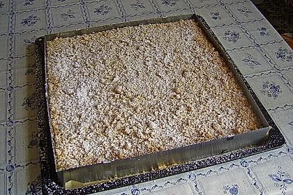 Streuselkuchen mit Mandarinen und Schmand 37