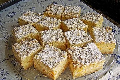 Streuselkuchen mit Mandarinen und Schmand 3