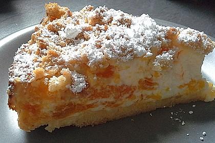 Streuselkuchen mit Mandarinen und Schmand 8