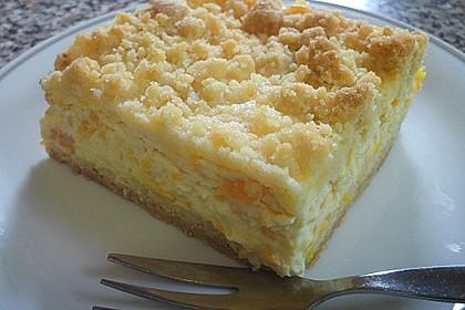 Streuselkuchen mit Mandarinen und Schmand 13