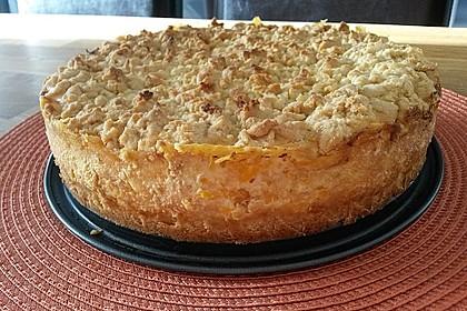 Streuselkuchen mit Mandarinen und Schmand 19
