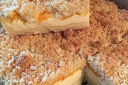Streuselkuchen mit Mandarinen und Schmand 4