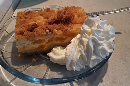 Streuselkuchen mit Mandarinen und Schmand 75