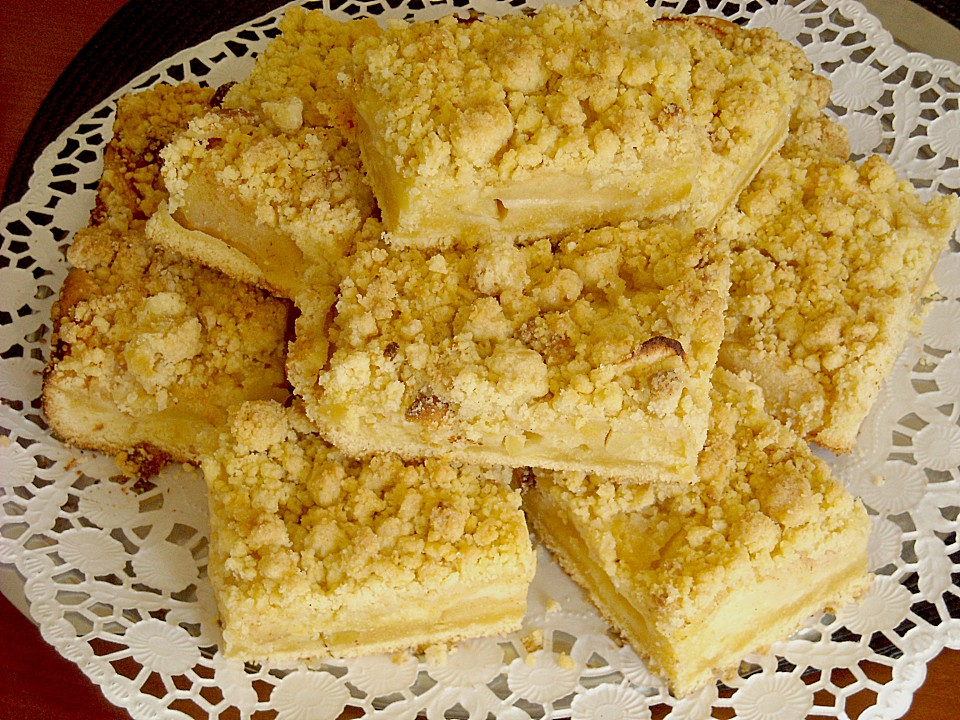 Elfes Apfelstreuselkuchen Von Elfe2325 Chefkoch De