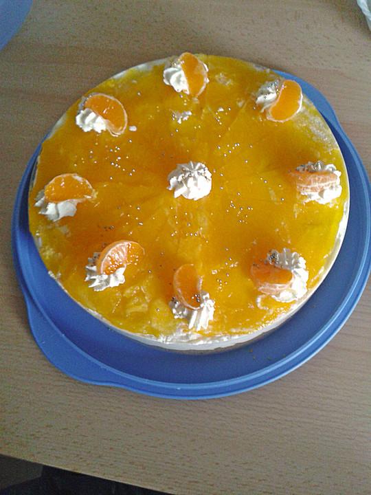Schneller Mandarinen Sahne Kuchen Von Charlez2 Chefkoch De