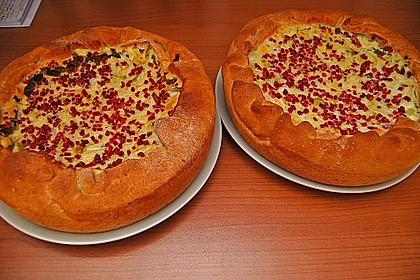 Deftiger Zwiebel - Lauch - Kuchen 8