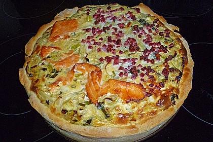 Deftiger Zwiebel - Lauch - Kuchen (Bild)