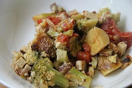 Veganer Gemüse-Tofu-Auflauf 5