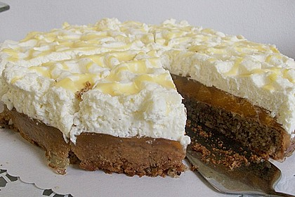 Nuss - Mandarinen - Sahne - Torte 2