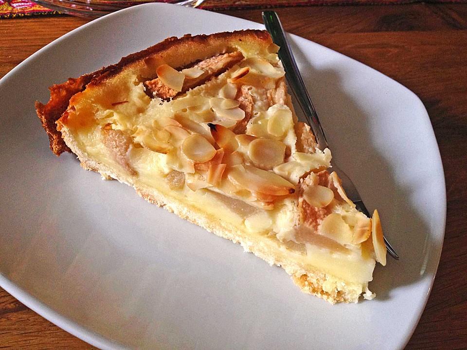 Birnenkuchen Mit Vanilleguss Von Caroline48 Chefkoch De