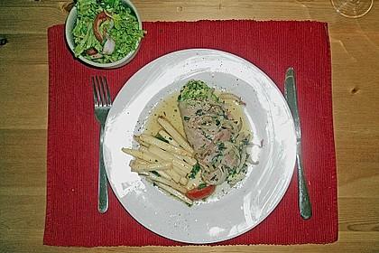 Koelkasts Putensteaks im Kräuter - Schafskäse  - Mantel 5
