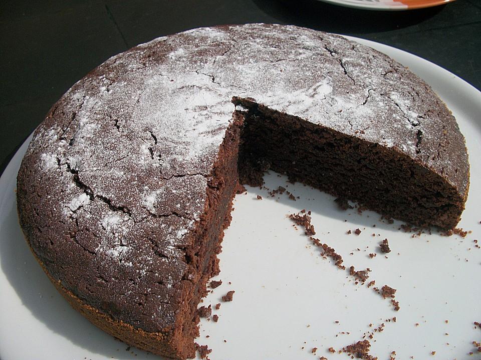Veganer Schokoladenkuchen Von Sambi Chefkoch De
