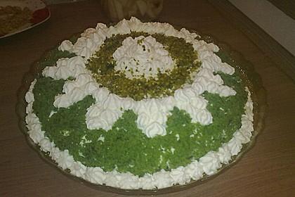 Spinat - Sahne - Torte