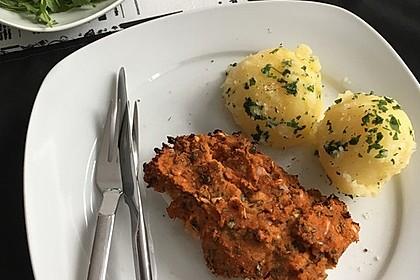 Fischfilet unter Zucchini - Kräuter - Kruste 1