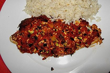Fischfilet unter Zucchini - Kräuter - Kruste 7