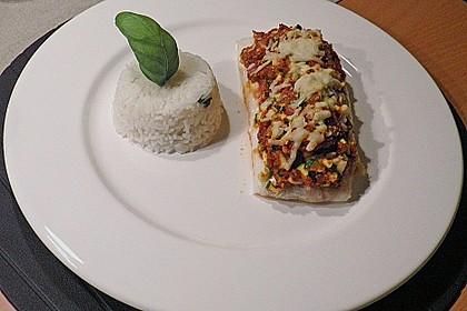 Fischfilet unter Zucchini - Kräuter - Kruste 12