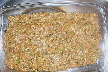 Fischfilet unter Zucchini - Kräuter - Kruste 20