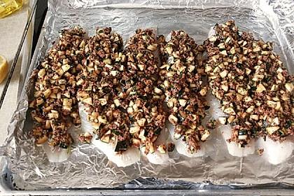 Fischfilet unter Zucchini - Kräuter - Kruste 8