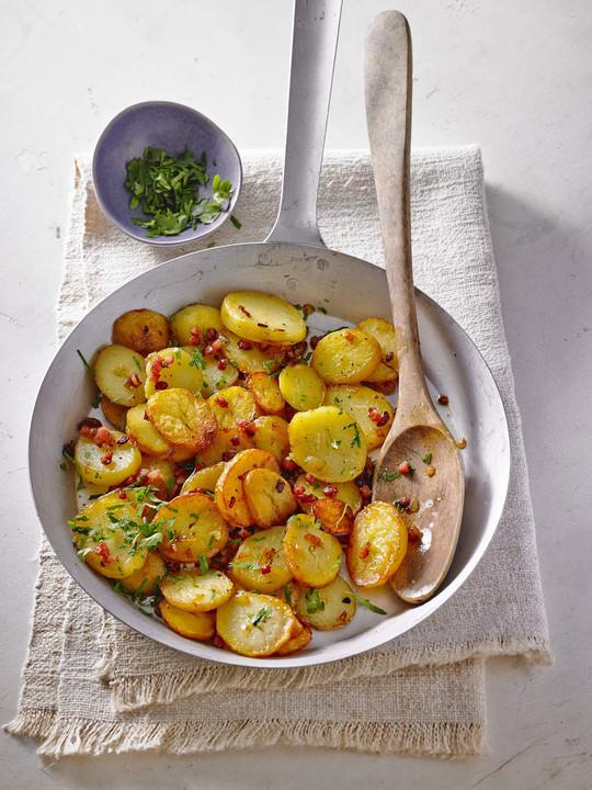Bratkartoffeln Mit Zwiebeln Und Speck Von Cyberlady Chefkochde