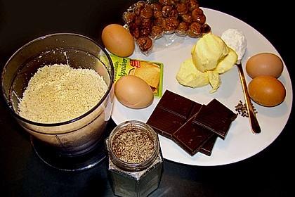Haselnuss - Kastanien - Kuchen 9