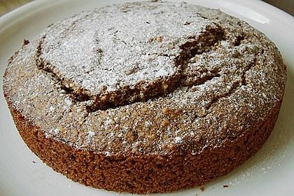 Haselnuss - Kastanien - Kuchen 1