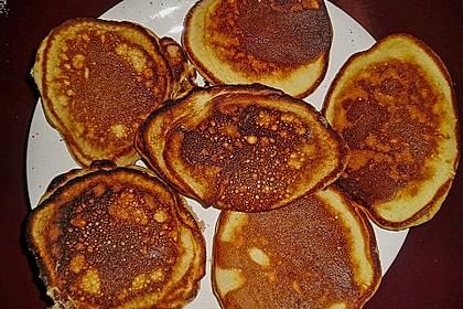 American Pancakes mit Ahornsirup 21