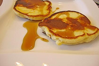 American Pancakes mit Ahornsirup 11