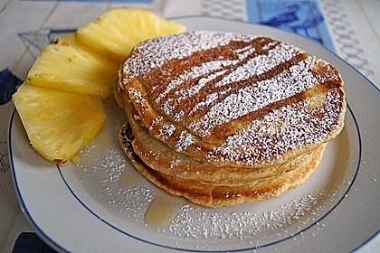 American Pancakes mit Ahornsirup 2