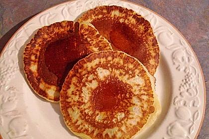 American Pancakes mit Ahornsirup 12