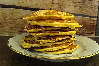 American Pancakes mit Ahornsirup 20