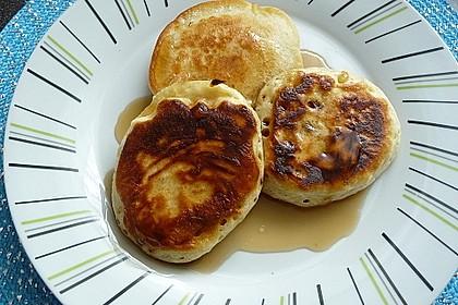 American Pancakes mit Ahornsirup 8