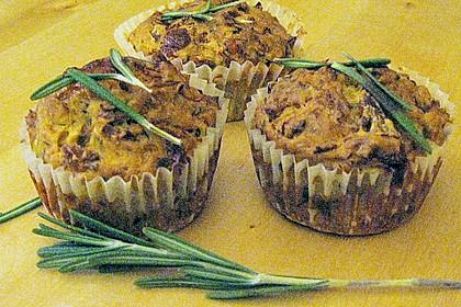 Muffins mit Thunfisch und Zucchini 3