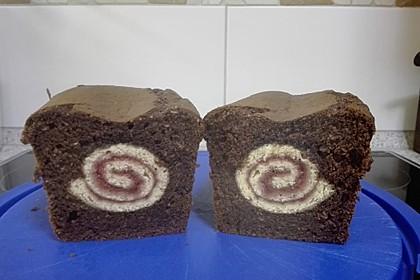 Rouladen - Schoko - Nusskuchen 25