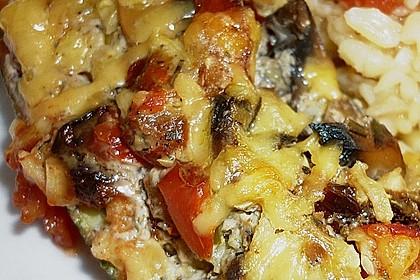 Zucchini - gefüllt und überbacken 5
