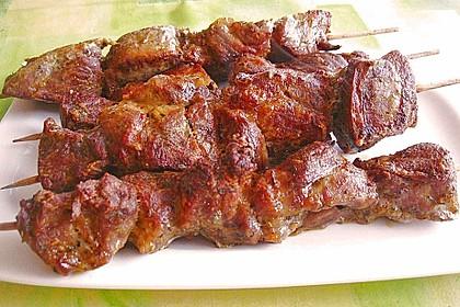 Fleischspieße