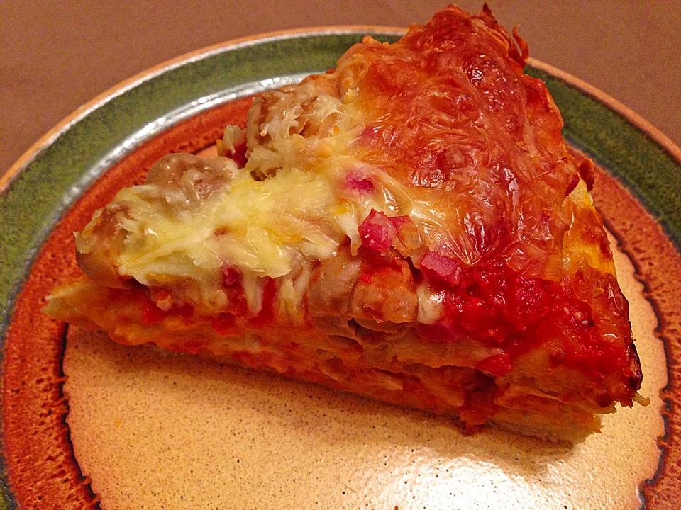 Pizza Torte Von Chaclara Chefkoch De