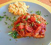 Tomaten - Paprika - Sugo mit Feuer (Bild)