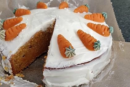 Karotten - Walnuss - Kokos - Ananas - Kuchen 4