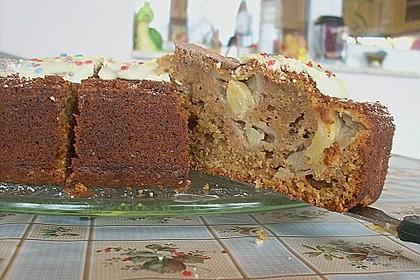 Karotten - Walnuss - Kokos - Ananas - Kuchen 3