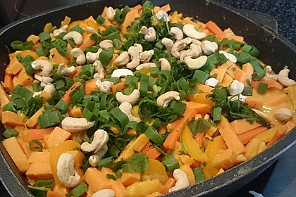 Süßkartoffel-Curry 36