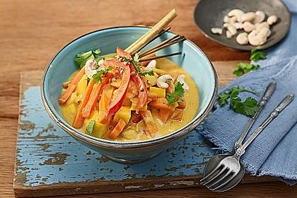 Süßkartoffel-Curry 1