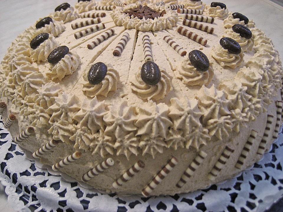 Mokka Sahne Torte Von Nasch Katze Chefkoch De